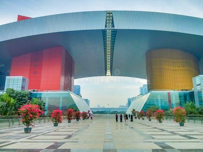 Centre de citoyen de Shenzhen, Chine photos libres de droits