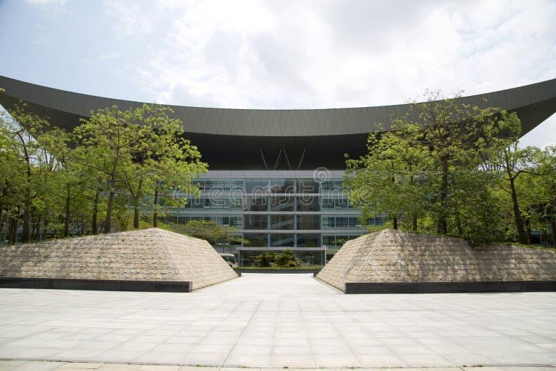 Centre de citoyen de Shenzhen construisant la Chine image stock
