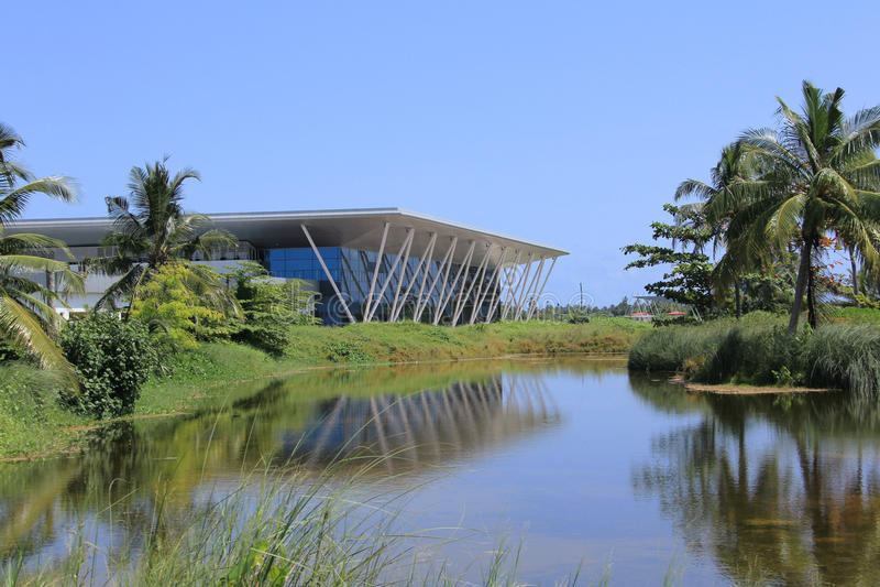 Centre de convention équatorial photos stock