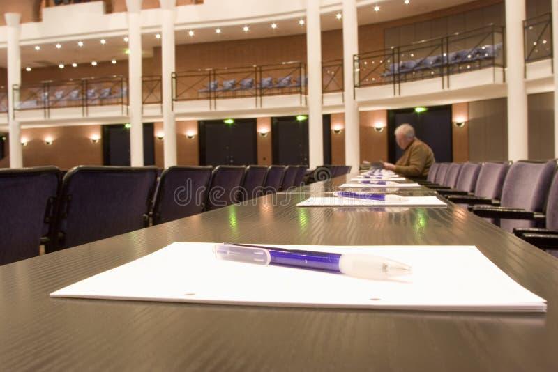 Centre de convention image libre de droits