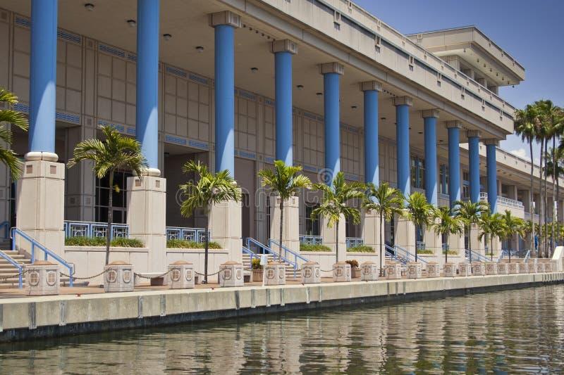 Centre de convention de Tampa images libres de droits