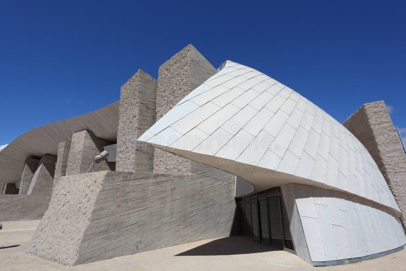 Centre de convention de Tenerife photo libre de droits