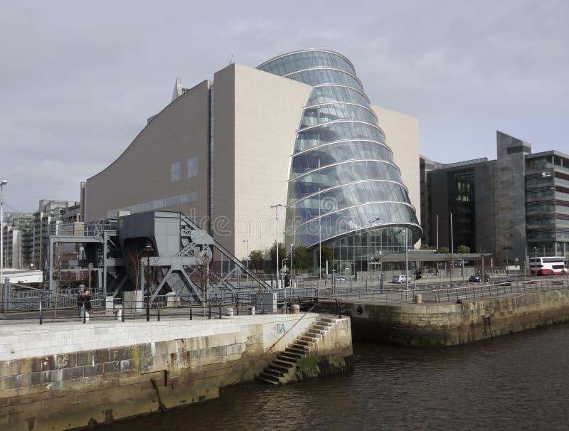 Centre de convention Dublin images libres de droits
