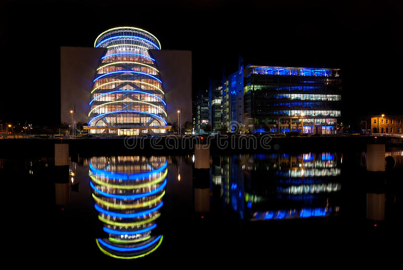 Centre de convention, Dublin, Irlande image libre de droits