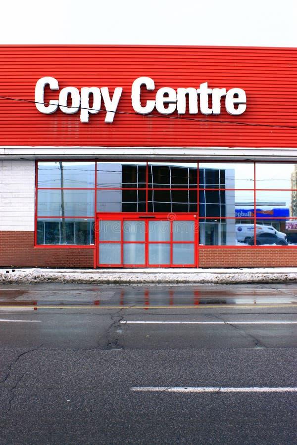 Centre de copie image stock