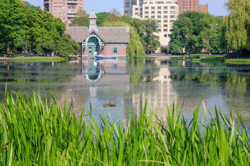 Centre de découverte de Charles A Dana Discovery Center - Central Park, New York City images libres de droits