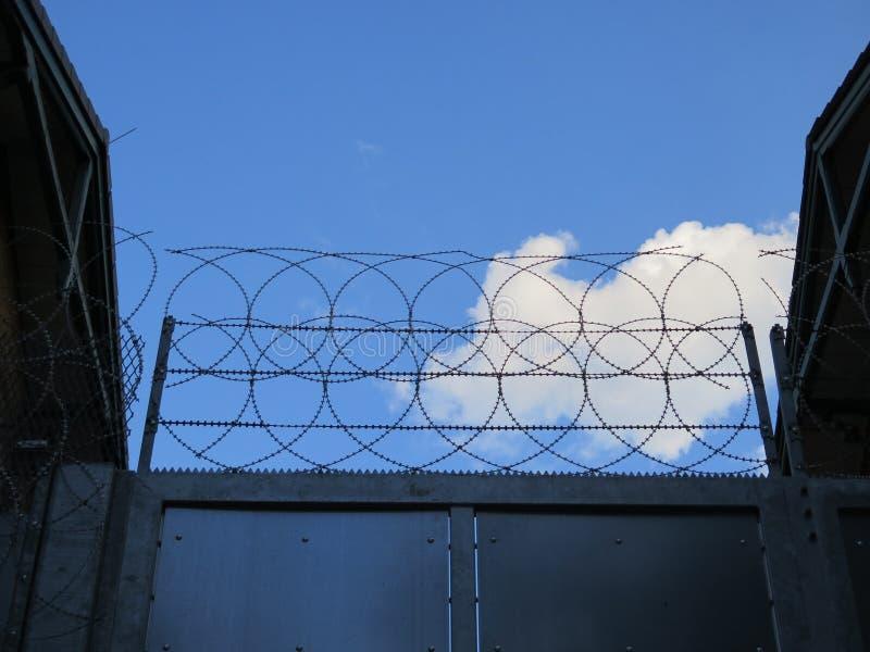Centre de détention de Hambourg photos libres de droits