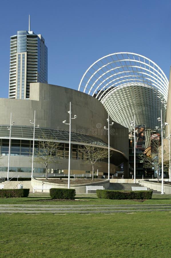 Centre de Denver pour les arts du spectacle images stock