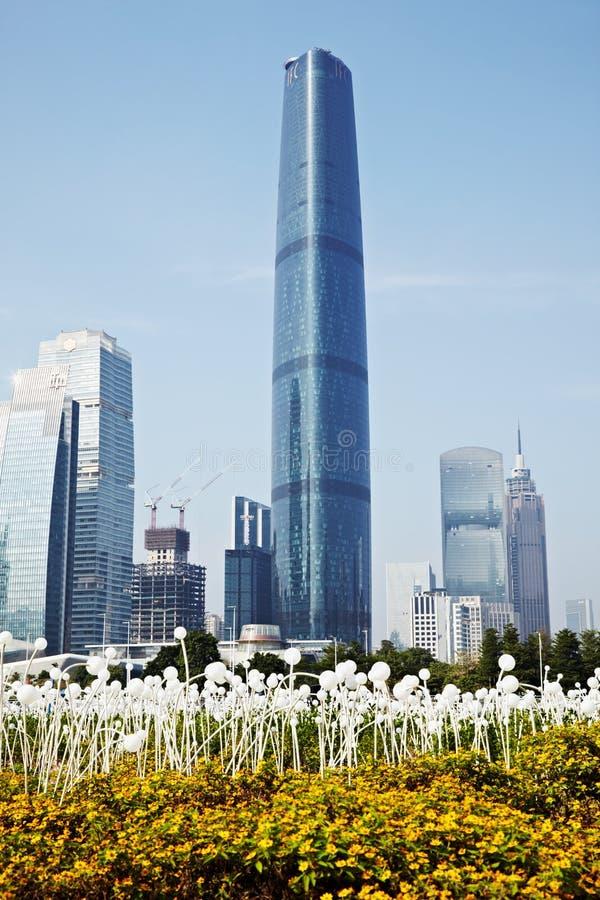 Centre de finance internationale de Guangzhou image libre de droits