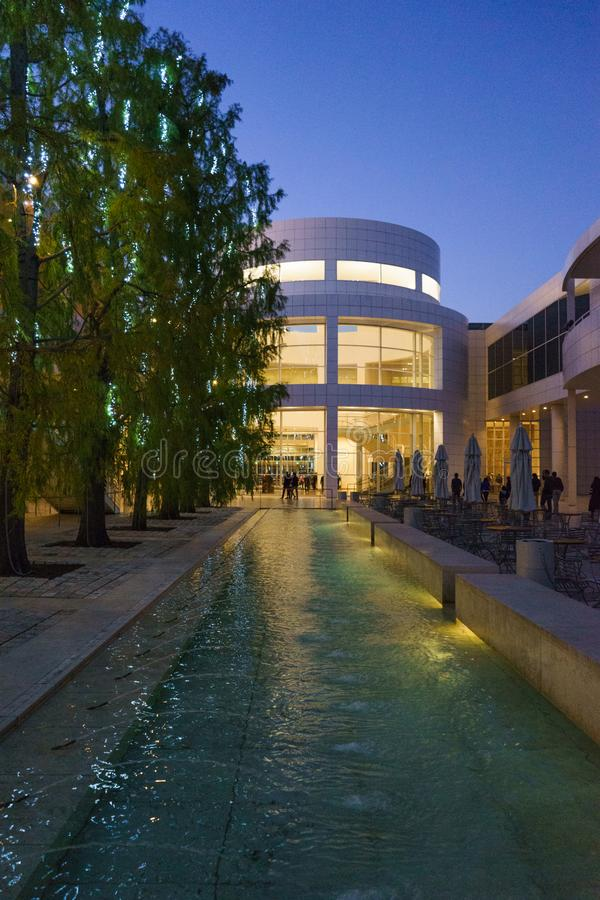 Centre de Getty, Los Angeles photos libres de droits
