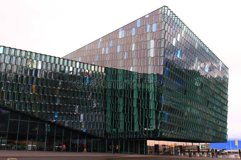 Centre de Harpa Concert Hall And Conference image libre de droits