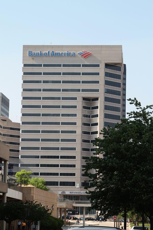Centre de la Banque d'Amérique à Baltimore photos libres de droits