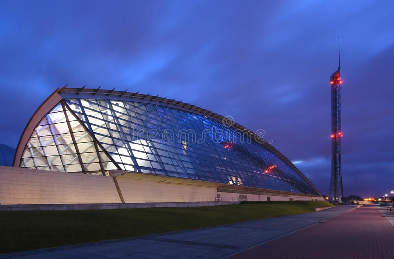 Centre De La Science De Glasgow Photos stock
