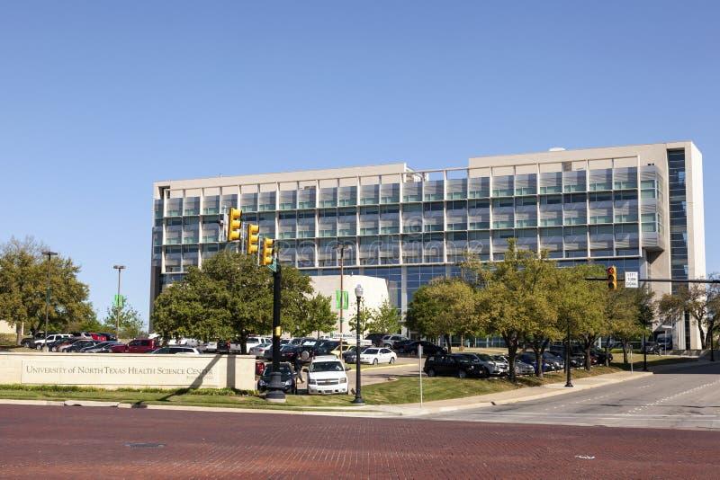 Centre de la Science de santé d'UNT à Fort Worth, TX, Etats-Unis photo libre de droits