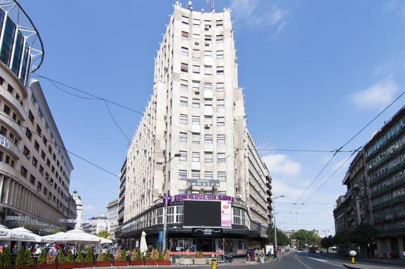 Centre de la ville de Belgrade image libre de droits