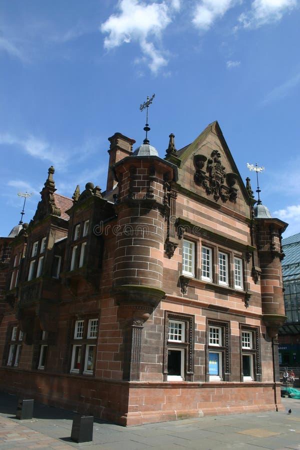 Centre de la ville de Glasgow photographie stock