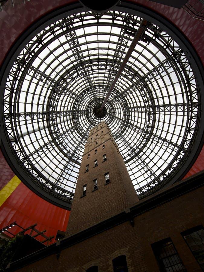 Centre de la ville de Melbourne photo stock