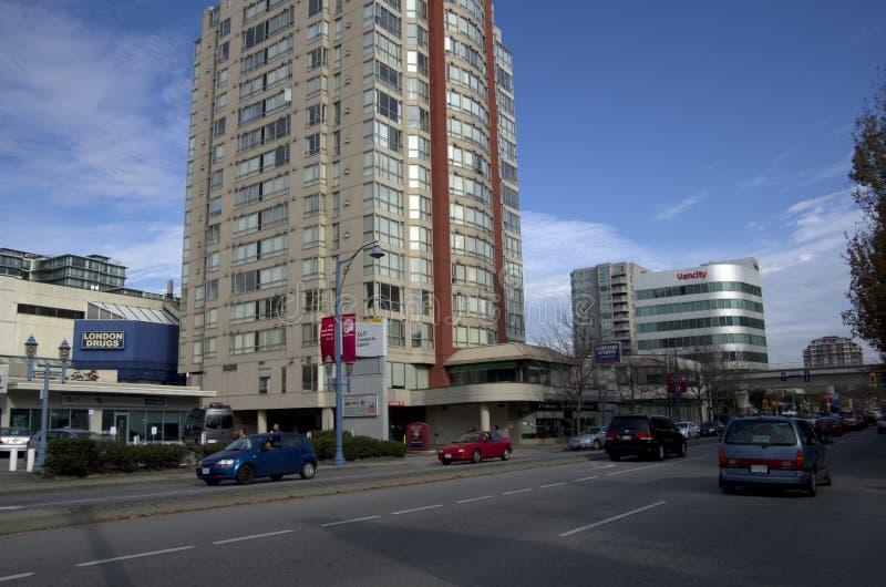 Centre de la ville de Richmond images libres de droits