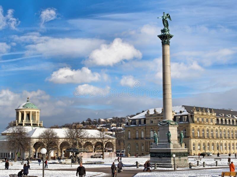 Centre de la ville de Stuttgart photo stock