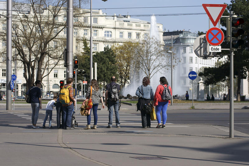 Centre de la ville de Vienne photographie stock