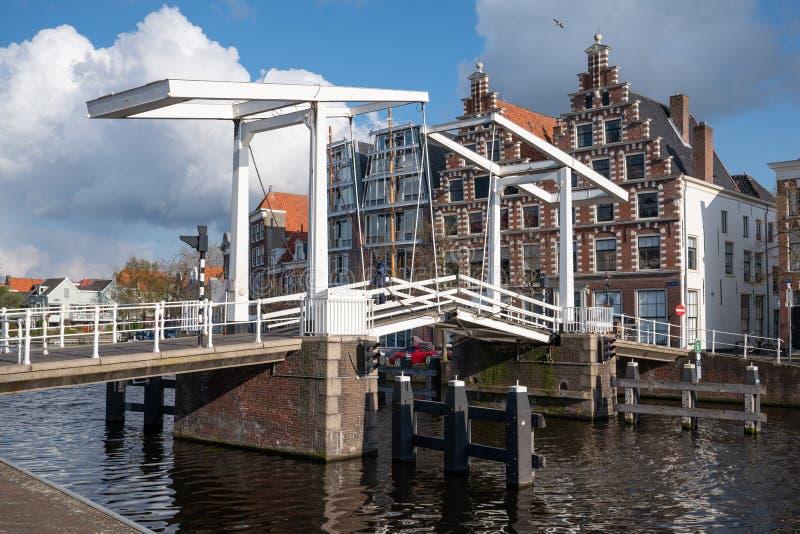 Centre de la ville de Haarlem, Pays-Bas images stock