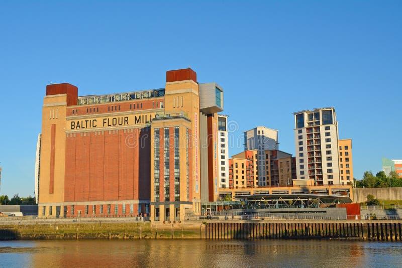 Centre de la ville, Newcastle, Angleterre photo libre de droits