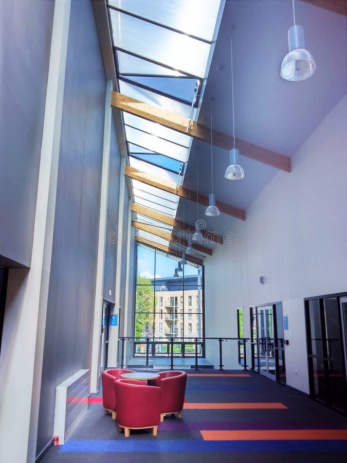 Centre de loisirs à Birmingham image libre de droits