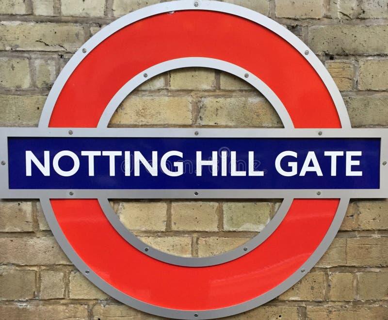 Centre de métro de station de Londres images libres de droits