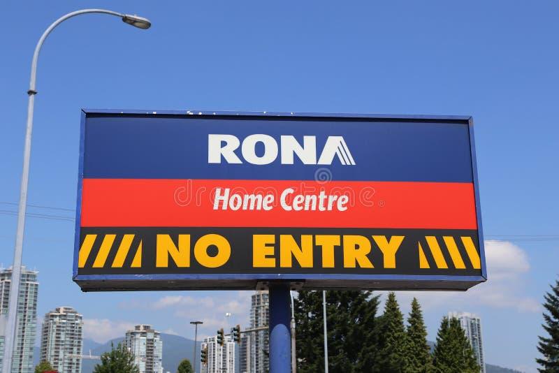Centre de maison de Rona photos stock