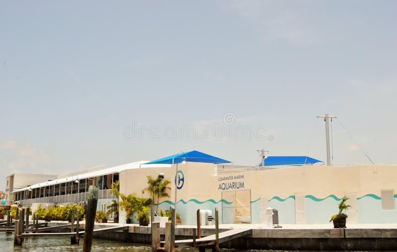 Centre de marine de Clearwater image stock