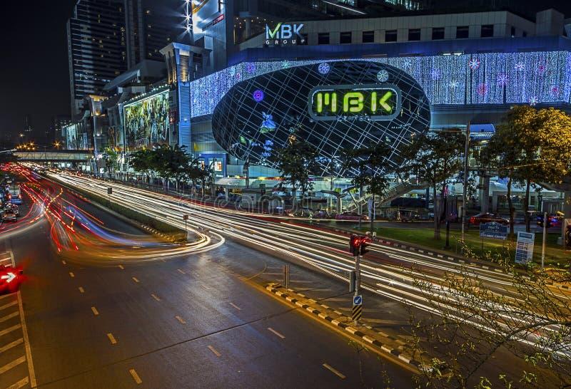 Centre de Mbk à Bangkok images libres de droits