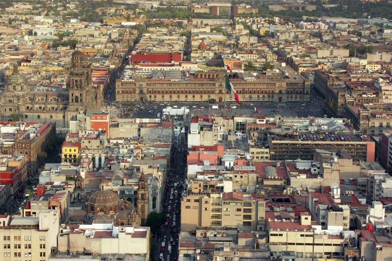 Centre de Mexico image libre de droits