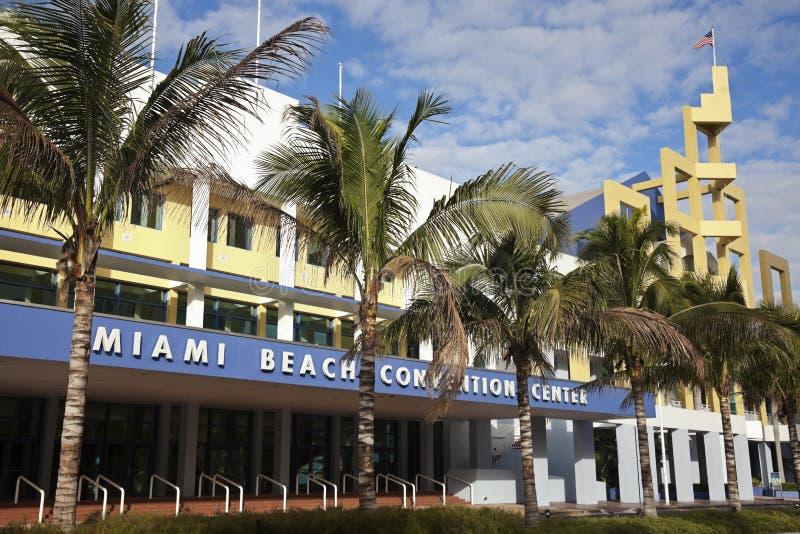 Centre de Miami Beach Covention photographie stock libre de droits