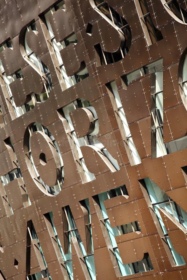 Centre de millénaire du Pays de Galles, Cardiff photographie stock