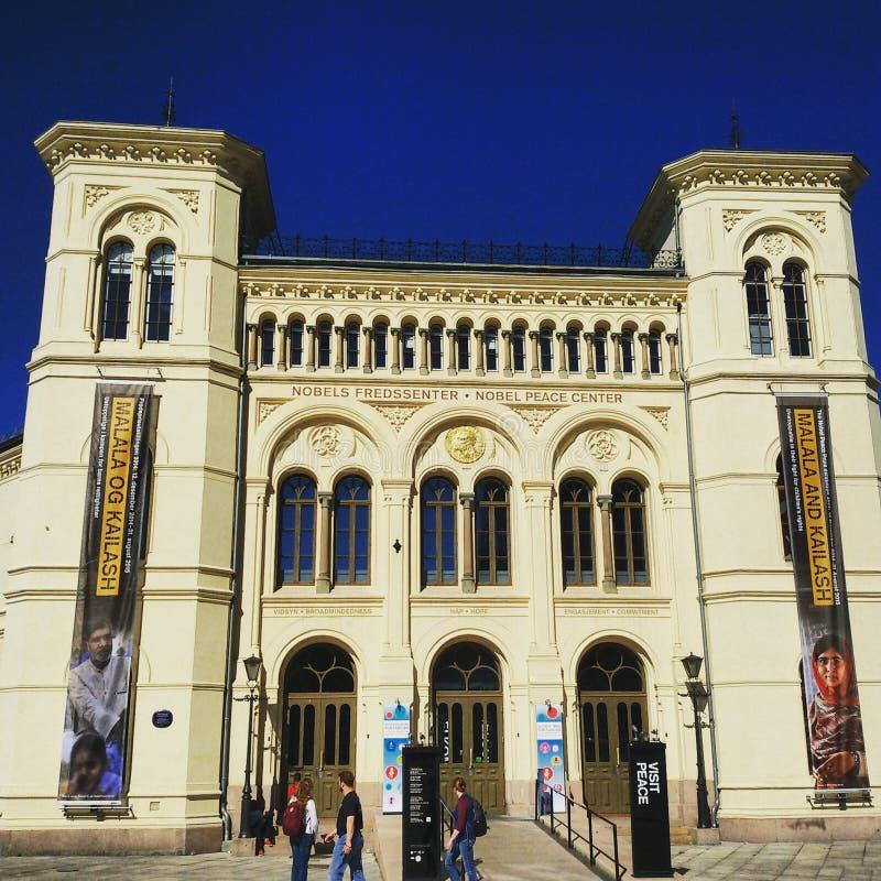 Centre de paix Nobel images libres de droits