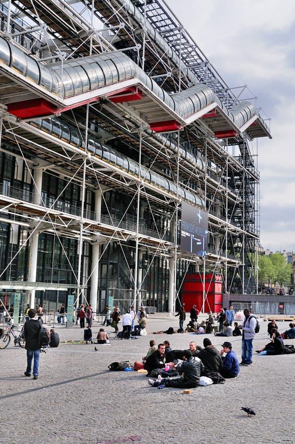 Centre de Pompidou, París fotos de archivo