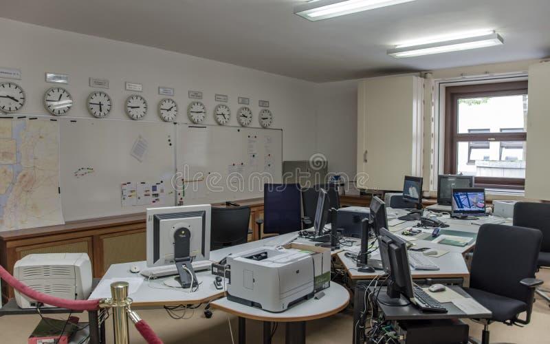 Centre de réponse aux crises dans Foreign Office fédéral photographie stock