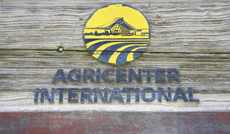 Centre de recherche agricole international d'Agricenter photos stock