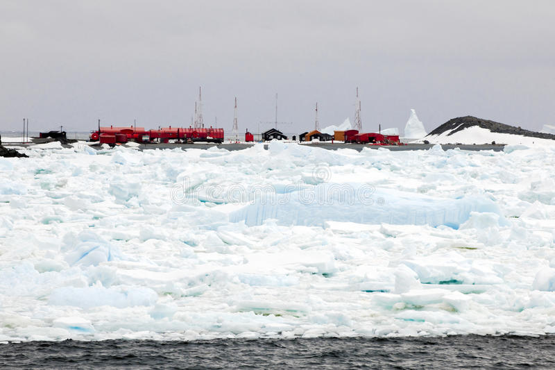 Centre de recherches arctique images libres de droits