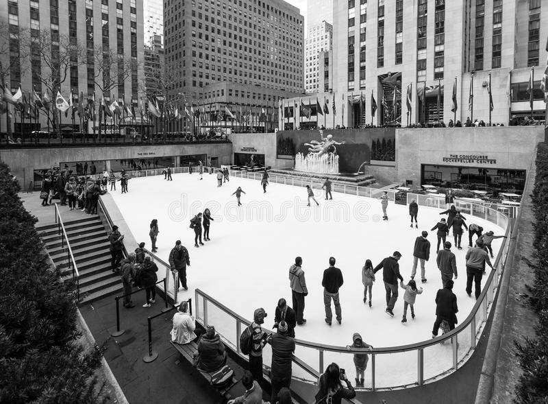 Centre de Rockefeller, New York photographie stock libre de droits