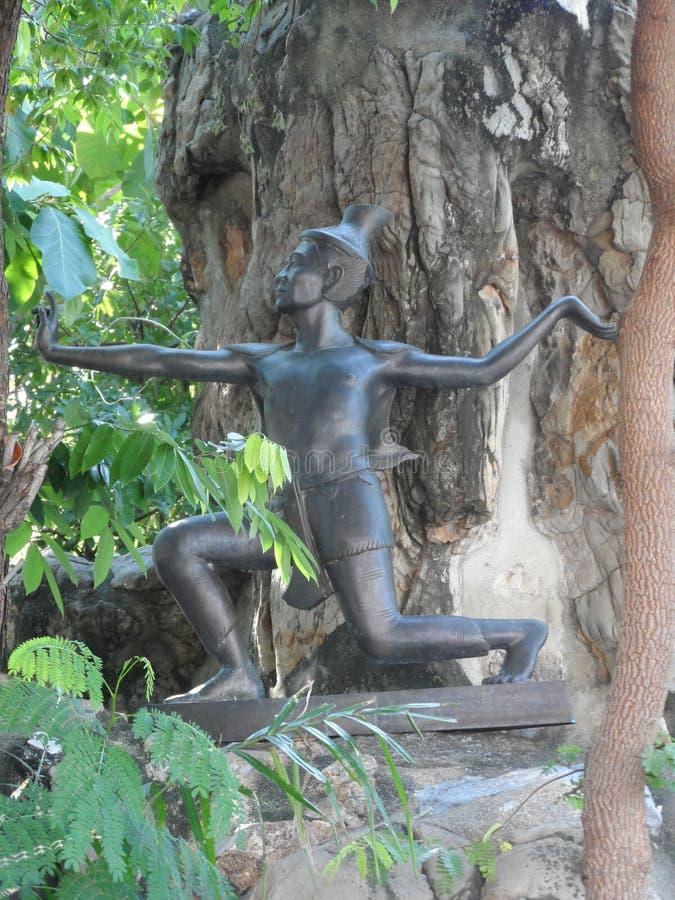 Centre de service de Wat Pho Thai Massage School images stock