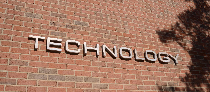 Centre de technologie pour la science appliquée avancée images stock