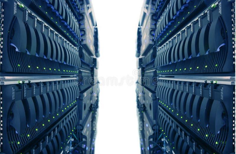 Centre de traitement des données d'Internet images stock