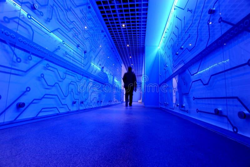 Centre de traitement des données de Borsa Istanbul photo stock