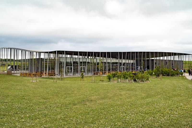 Centre de visiteur de Stonehenge images stock
