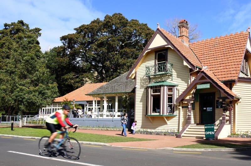 Centre de visiteurs de parc des Cornouailles à Auckland Nouvelle-Zélande photo stock