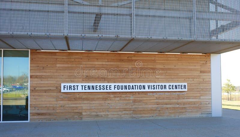 Centre du ` s de Shelby Farms Visitor, Memphis Tennessee photos libres de droits