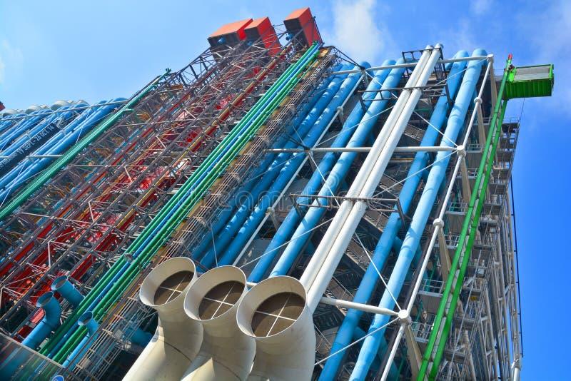 Centre Georges Pompidou imagen de archivo