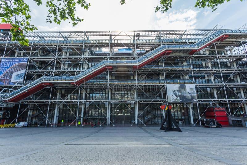 Centre Georges Pompidou in Paris lizenzfreies stockbild