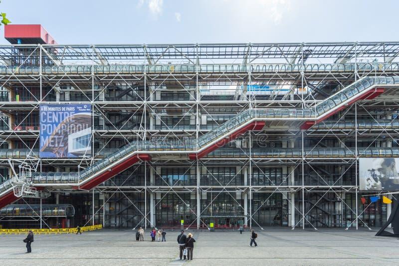 Centre Georges Pompidou in Paris stockfoto